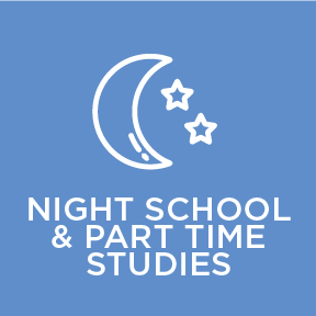 Learn more about night school and part time studies offered at Blyth Academy