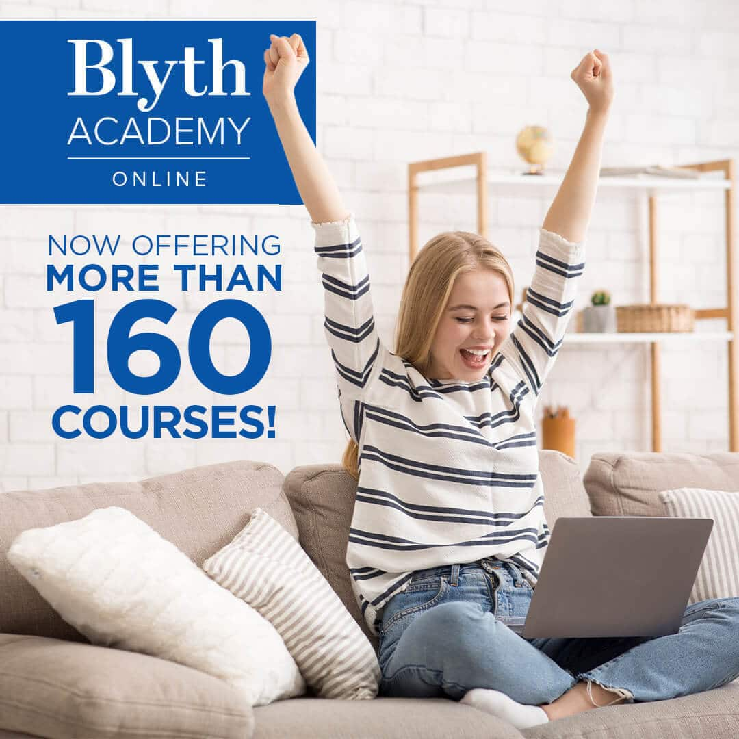 MPM1D online is one of over 160 secondary school courses that Blyth Academy Online offers